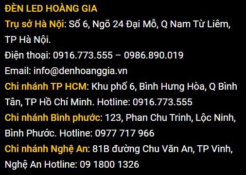 Địa chỉ bán đèn led tại Hà Nội Giá rẻ
